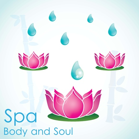 spa icons over light background vector illustration   Stock Vector - 17349486