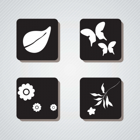 spa icons over light background vector illustration   Stock Vector - 17349203