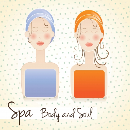 spa icons over light background vector illustration Stock Vector - 17349350