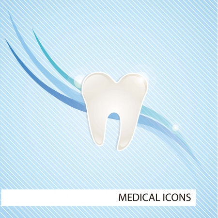 Medical icons over blue background vector illustration Stock Vector - 17351127