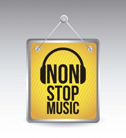 pictogrammes musique: bouton en ligne sur fond blanc. illustration vectorielle