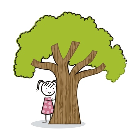 arbor day over white background. vector illustration Vector