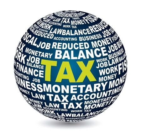podatek: icon podatku na białym tle. ilustracji wektorowych