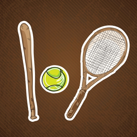 Sport Icons concept (different elements and objets) Vector