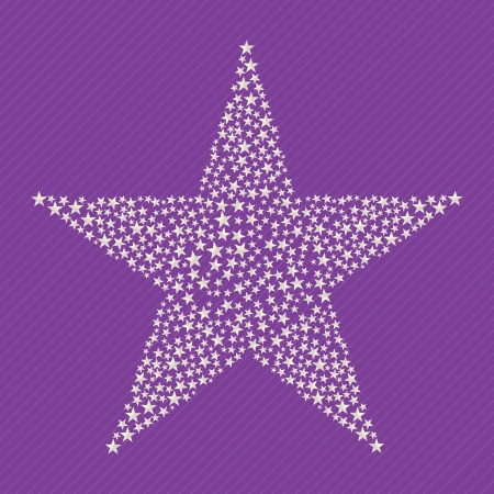 Stars icons and concept colorful, vector illustration Vector