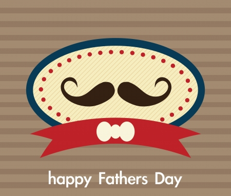 Fathers Day Icons and Cards ( Concepts) Vector illustration Stock Vector - 19033367