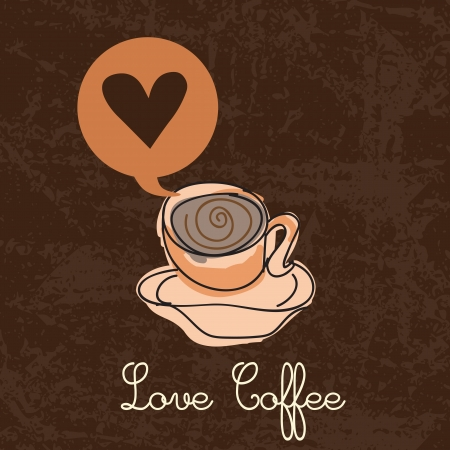 Coffee Icons ( colorful colletions, hand drawn). Vector Illustrations