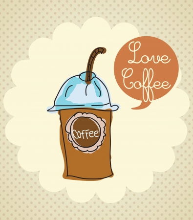 Coffee Icons ( colorful colletions, hand drawn). Vector Illustrations Vector