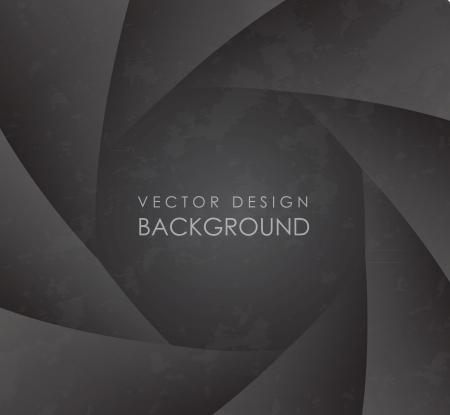 multiple image: background design lens over gray background illustration Illustration