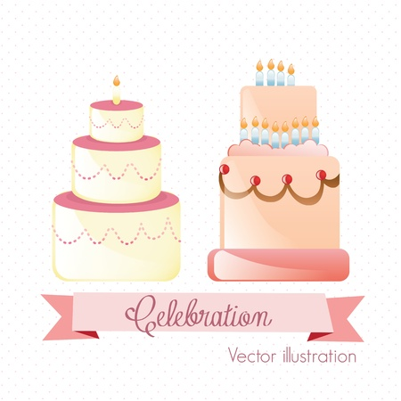 buttercream: Cake & Cupcakes icone (concetti, etichette e schede)