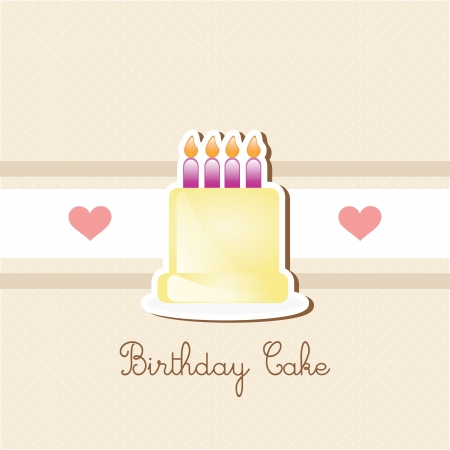 buttercream: Cake  & Cupcakes icons ( concepts, labels, & cards) Illustration