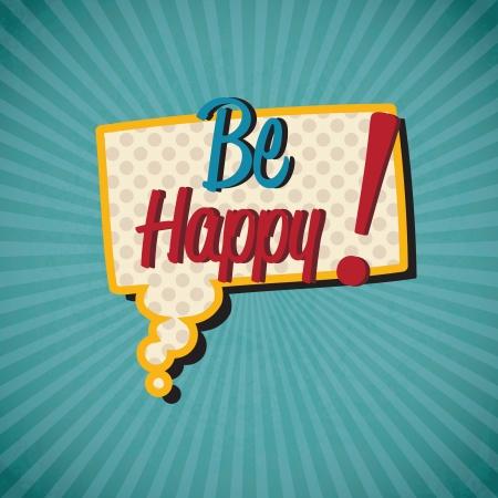 happy hours: Ic�nes r�tro (ferm� aujourd'hui). Vector Illustration