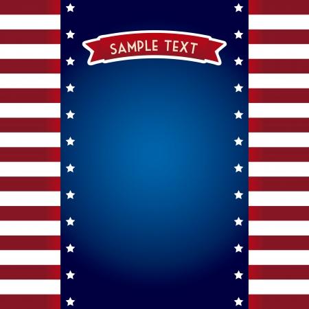 flag day background, united states. vector illustration Illustration