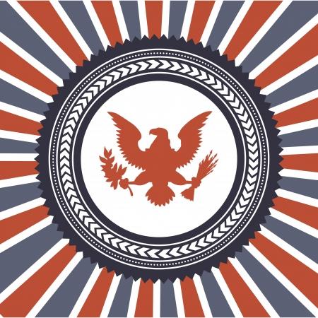 flag day background, united states. vector illustration Vector