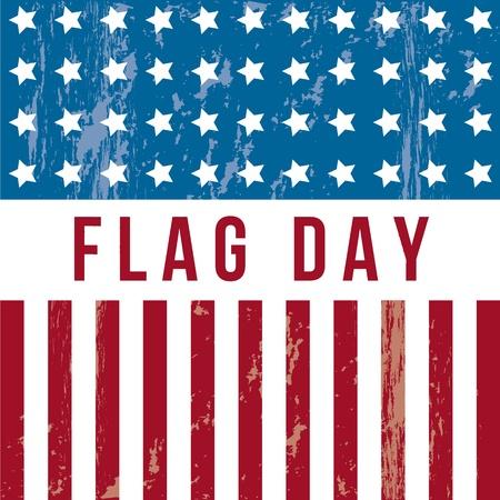 forth: flag day background, united states. vector illustration Illustration