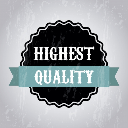 accredit: highet quality over gray background. vector illustration