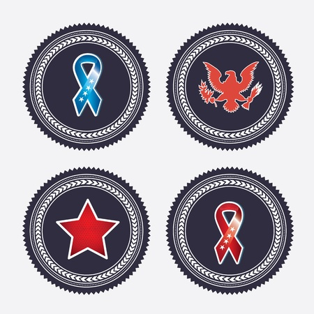 patches black over gray background illustration Vector