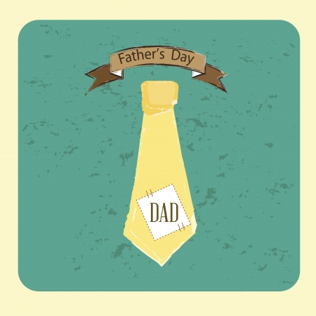 tie icons fathers day over blue background illustration Stock Vector - 19772642
