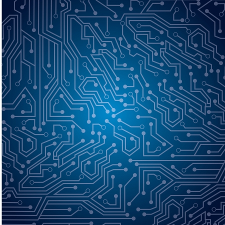 sky circuit  over blue background illustration  Vector