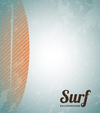 surfboard design over vintage  background