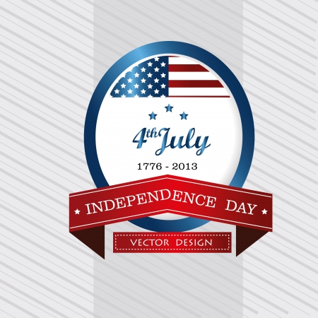 independence design over white background vector illustration  Vector