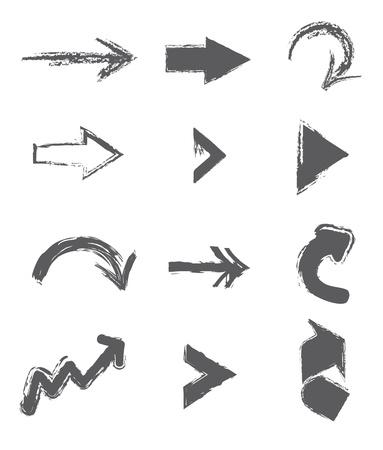econimics: arrows design over white background vector illustration  Illustration