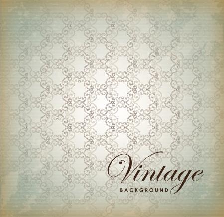 vintage design  over gray  background vector illustration  Stock Vector - 20054012