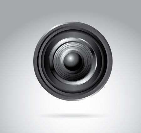 rt: lens design over beige background vector illustration