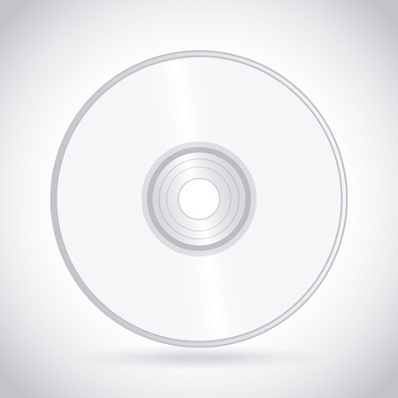 blueray: compact disc design over white background vector illustration