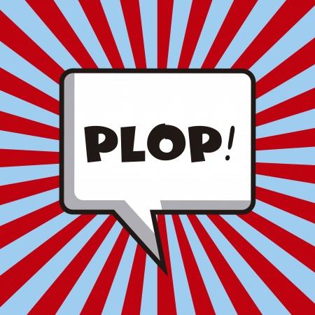 pop background: pop art design over lines background vector illustration