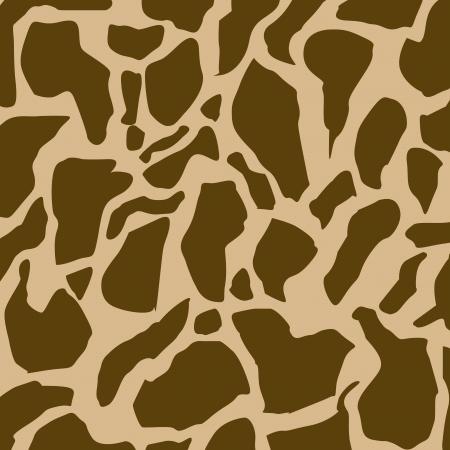 animal design over giraffe skin background vector illustration Vector