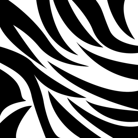 animal design over zebra skin background vector illustration  Vector