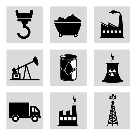 energy icons over white background vector illustration Stock Vector - 20500006