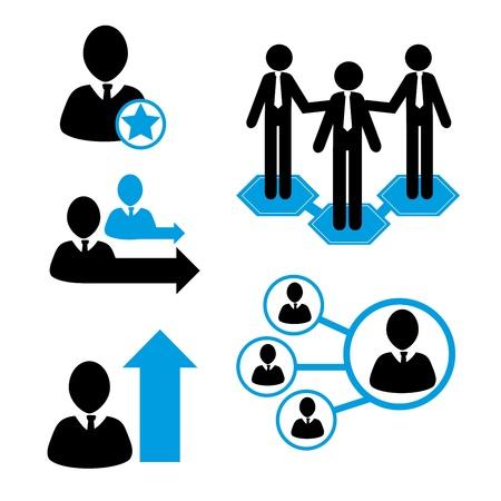 teamwork design over white background vector illustration  Stock Vector - 20499826