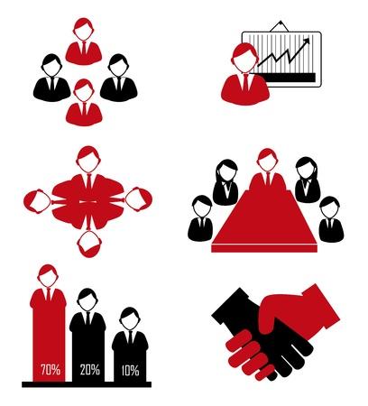 teamwork design over white background vector illustration  Stock Vector - 20499978