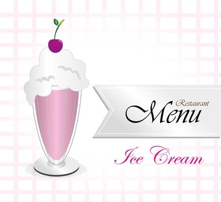 menu resturant over white background vector illustration