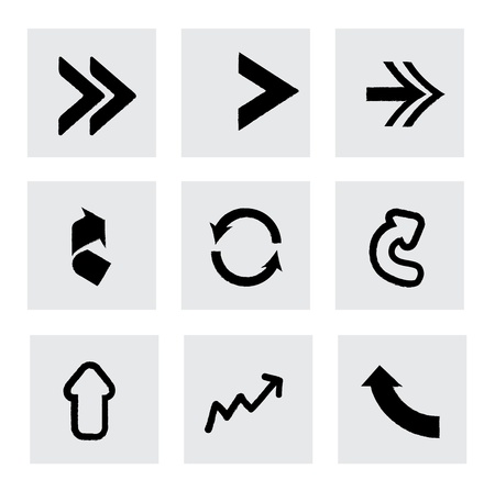 econimics: arrows design over gray background vector illustration