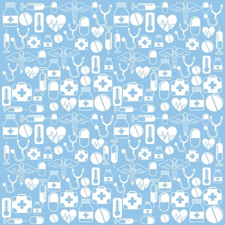 medical icon: medical design over blue background