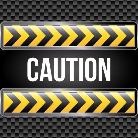 no trespassing: caution tape over black background  Illustration