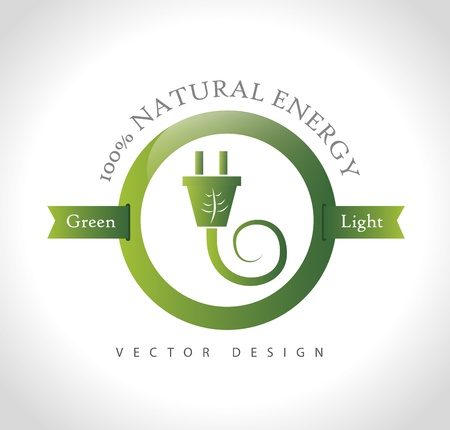 natural energy: natural energy over gray background