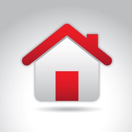 real estate over gray background vector illustration   Illustration