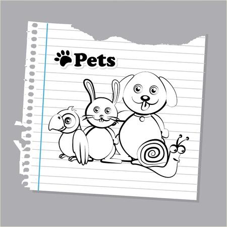 mascots design over gray background vector illustration Stock Vector - 21505979