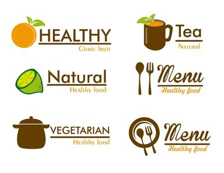 organic labels over white background vector illustration  Illustration