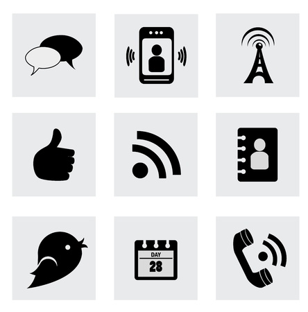 business icons over white background  Illustration