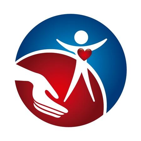 cardiologie ontwerp op een witte achtergrond vector illustratie
