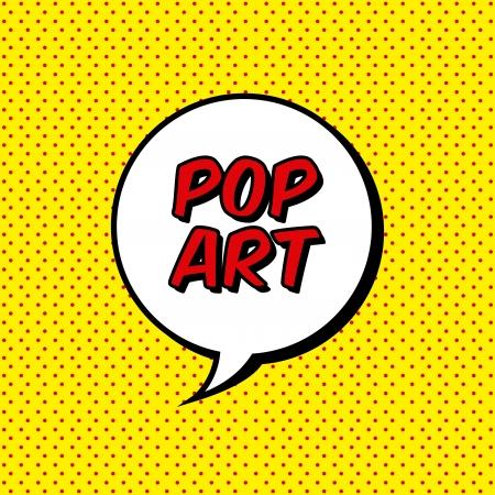 kunst: Pop-Art-Explosion über gepunktete Hintergrund. Vektor-Illustration