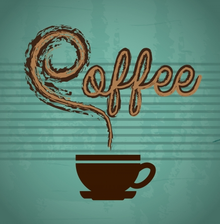 coffee  design over blue background vector illustration  illustration