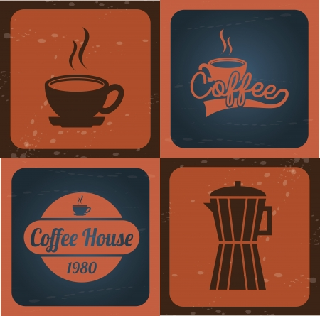 coffee design design over vintage background vector illustration  illustration