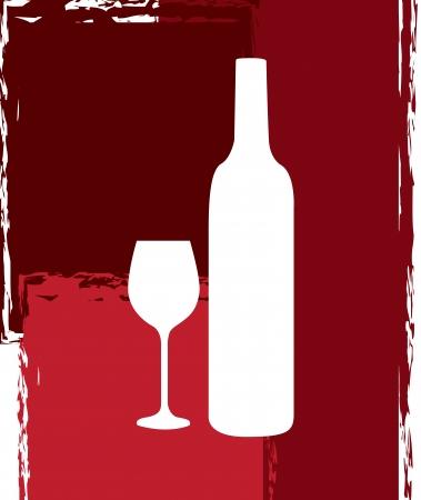 wine design over pattern background. vector illustration illustration