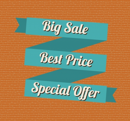 big sale  design over dotted background vector illustration  illustration